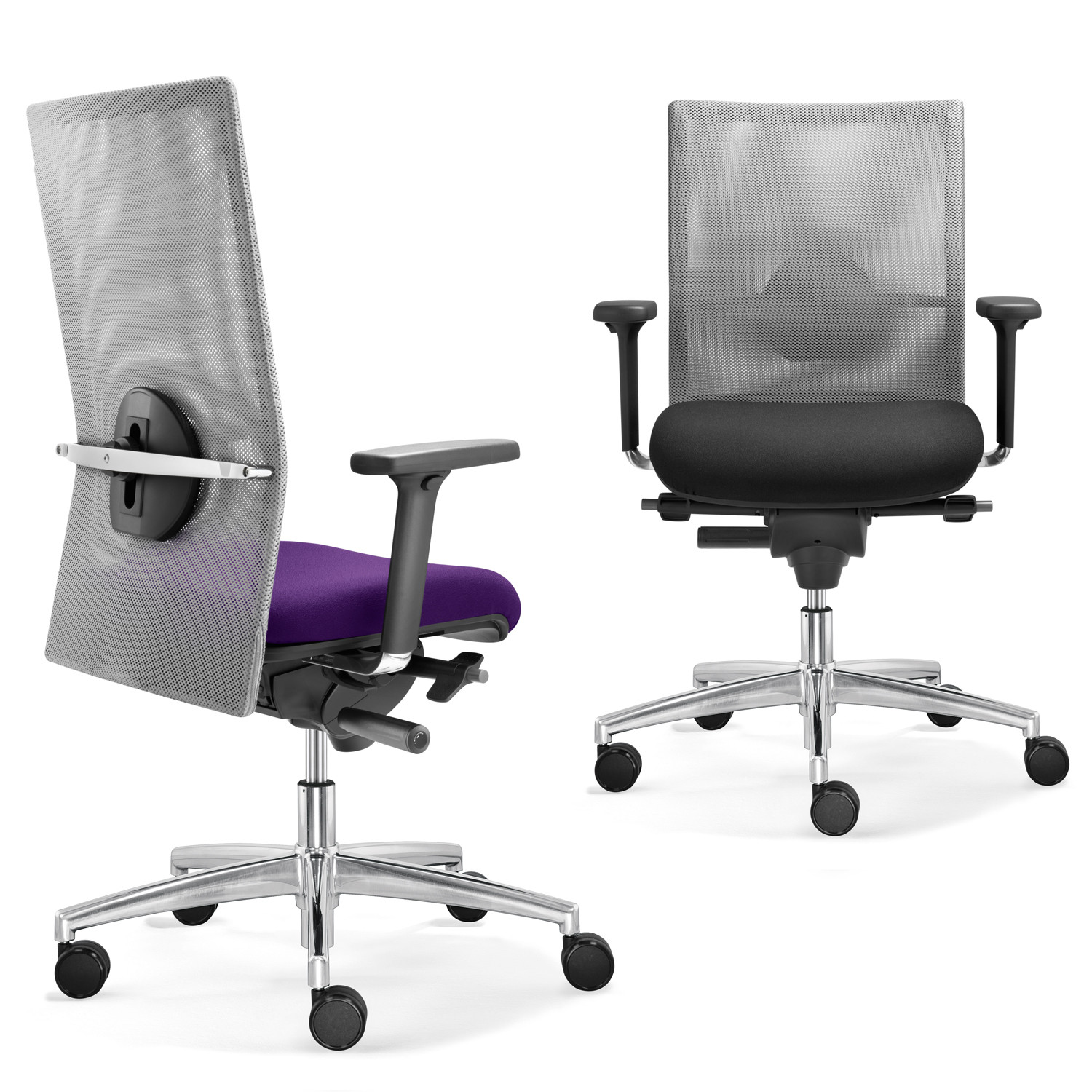 Sim-O Mesh Chairs from Dauphin Office