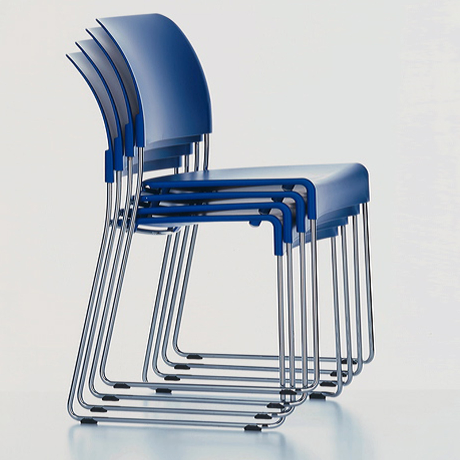 Vitra SIM Chairs Stacked