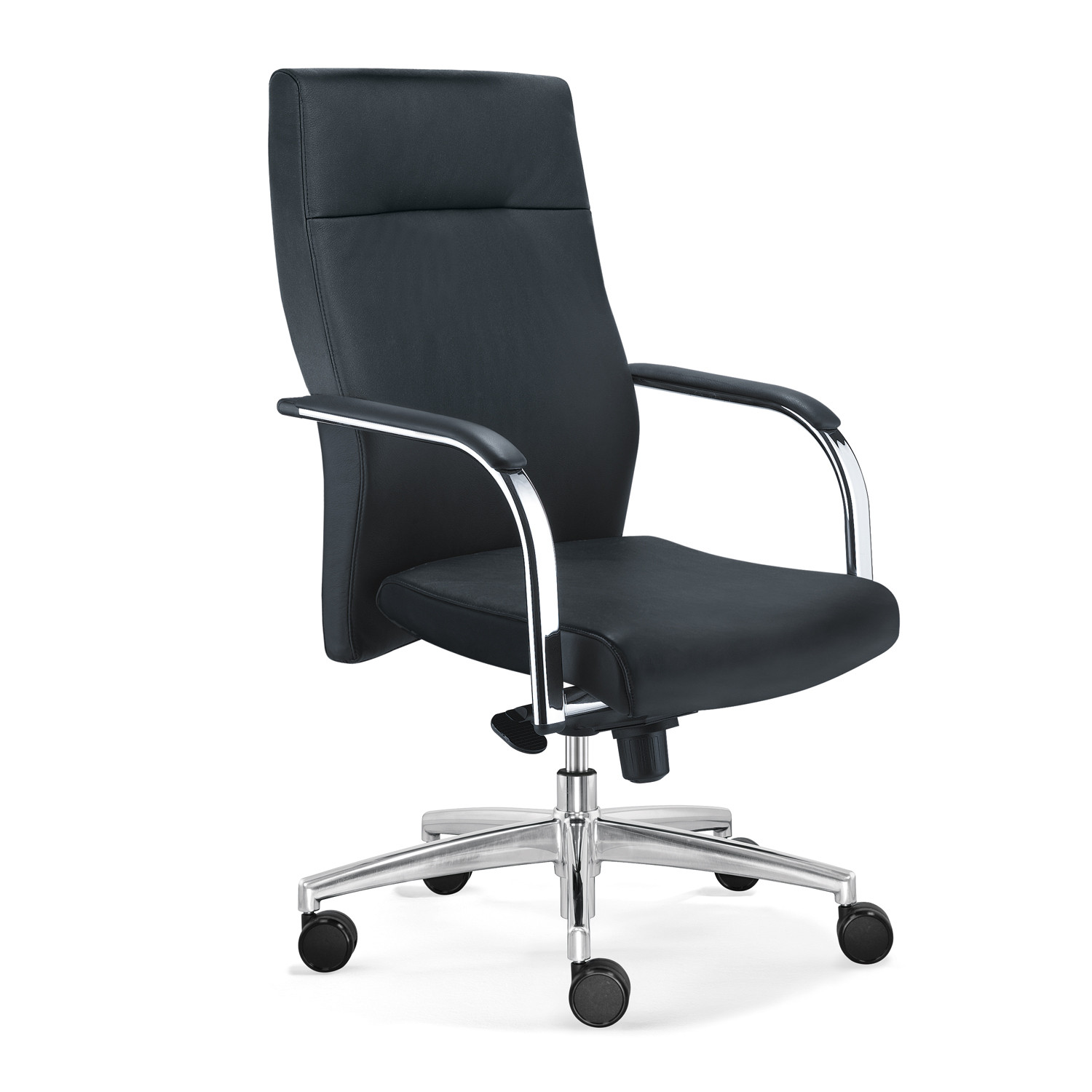 Sim-O Leather Upholstered Office Chair