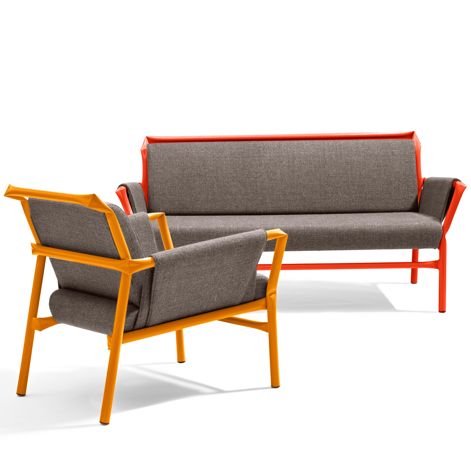 Superkink S27 Sofa and S26 Armchair