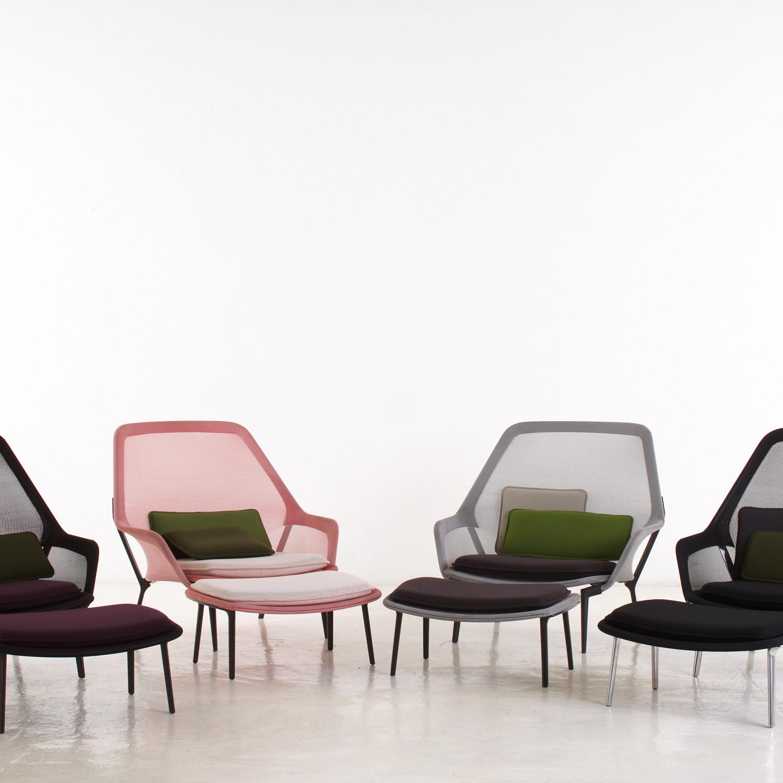 Ronan and Erwan Bouroullec Slow Chair & Ottoman