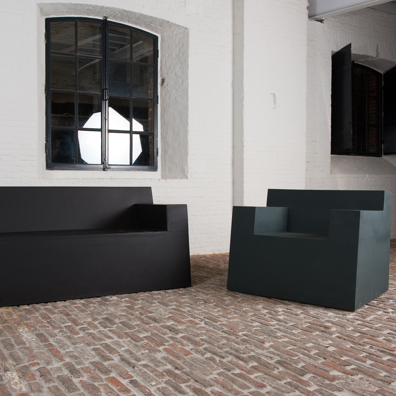 SixInch Sofa and Armchair