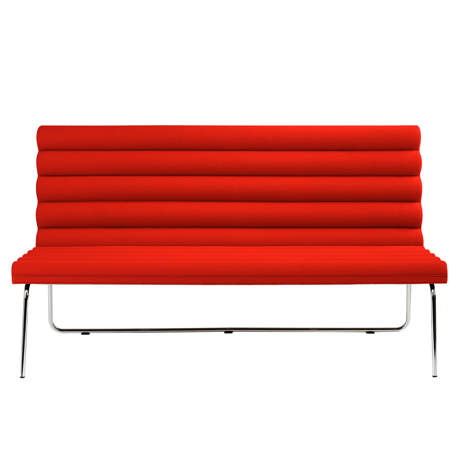 Chicago Sofa Bench in Red Up