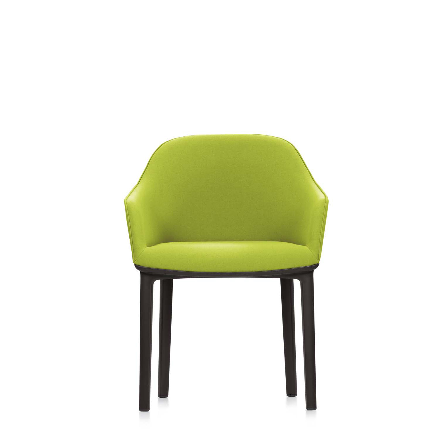 Softshell Armchair with four legs