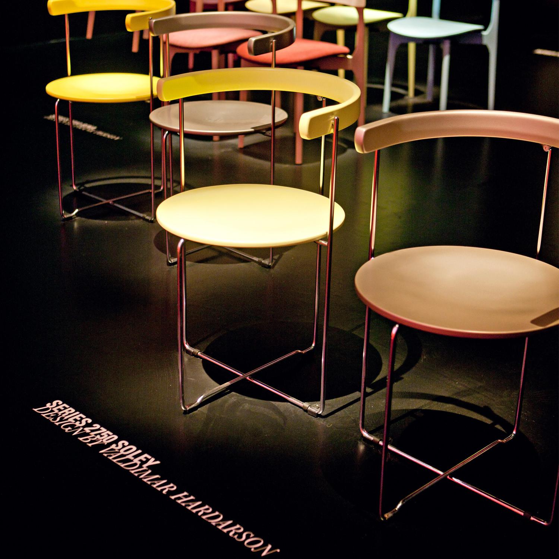 2750 Sóley Chairs designed by Valdimar Harðarson