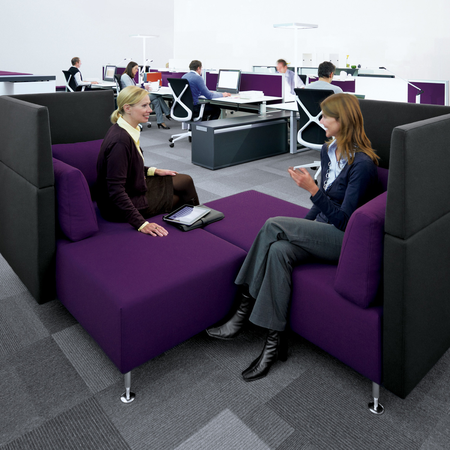 Sopha Modular High Back Seating