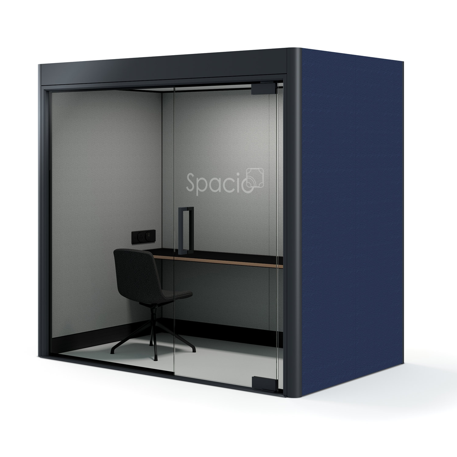 Spacio Work Pod side view