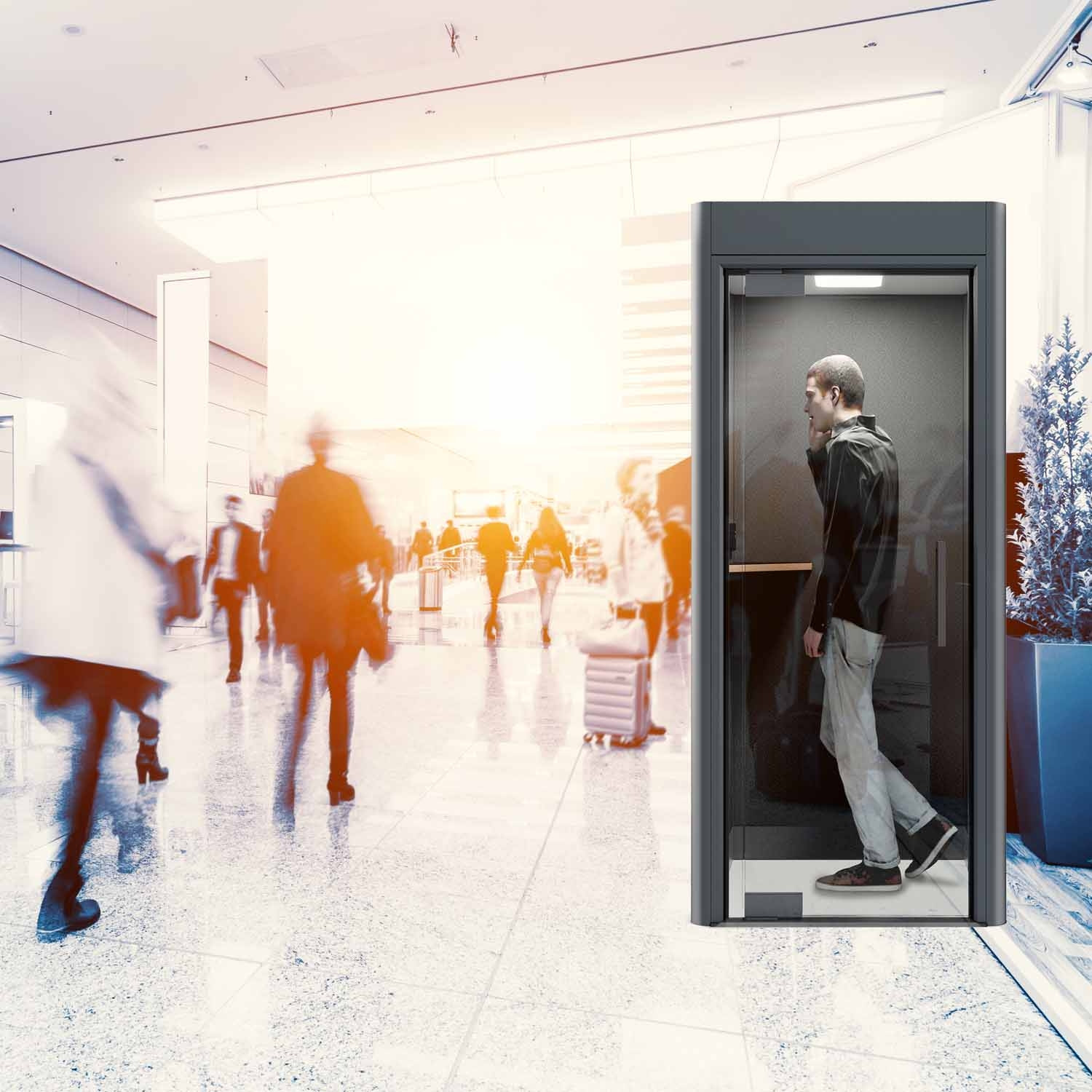 Spacio Mini Phone Booth