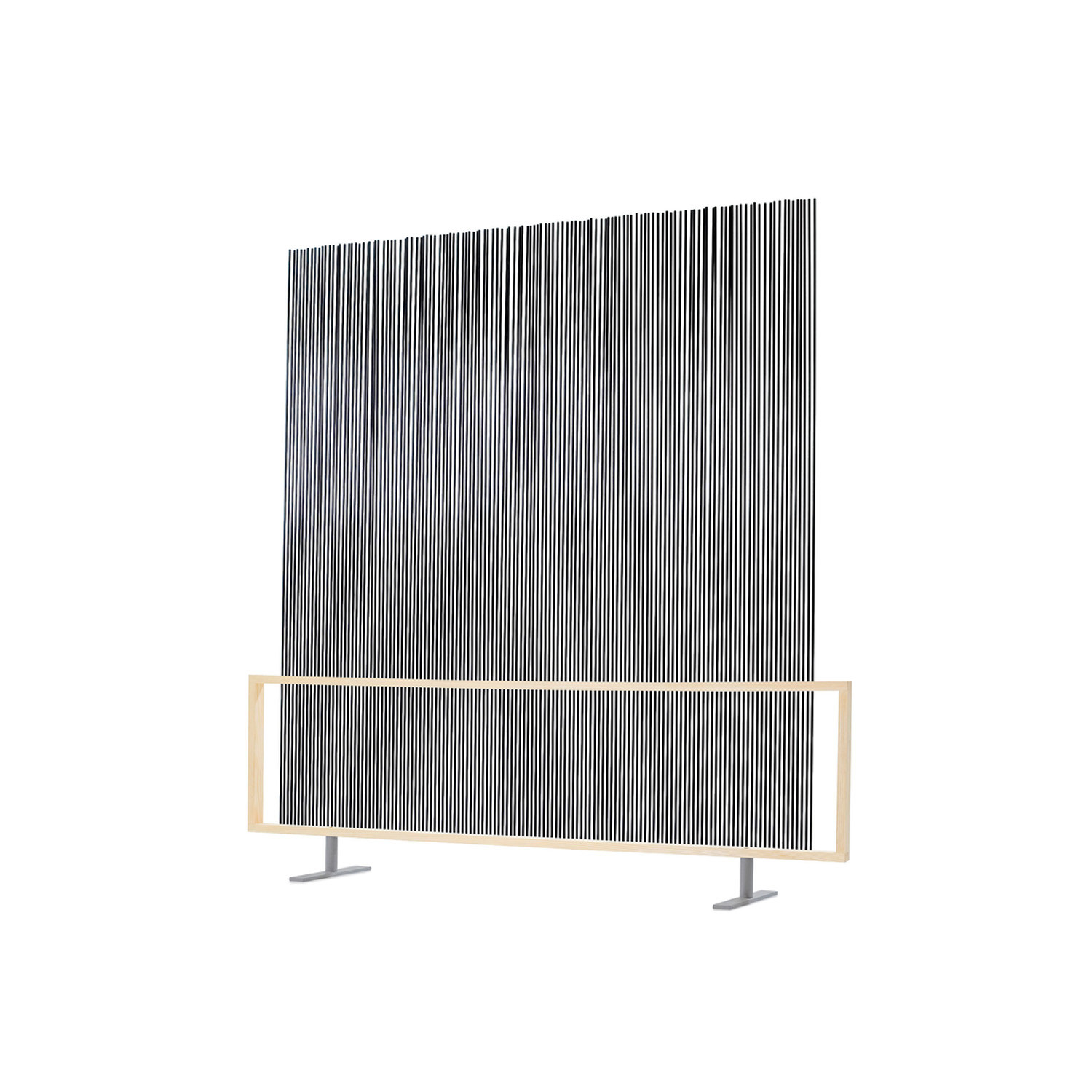 Spaghetti Wall Room Divider - Black