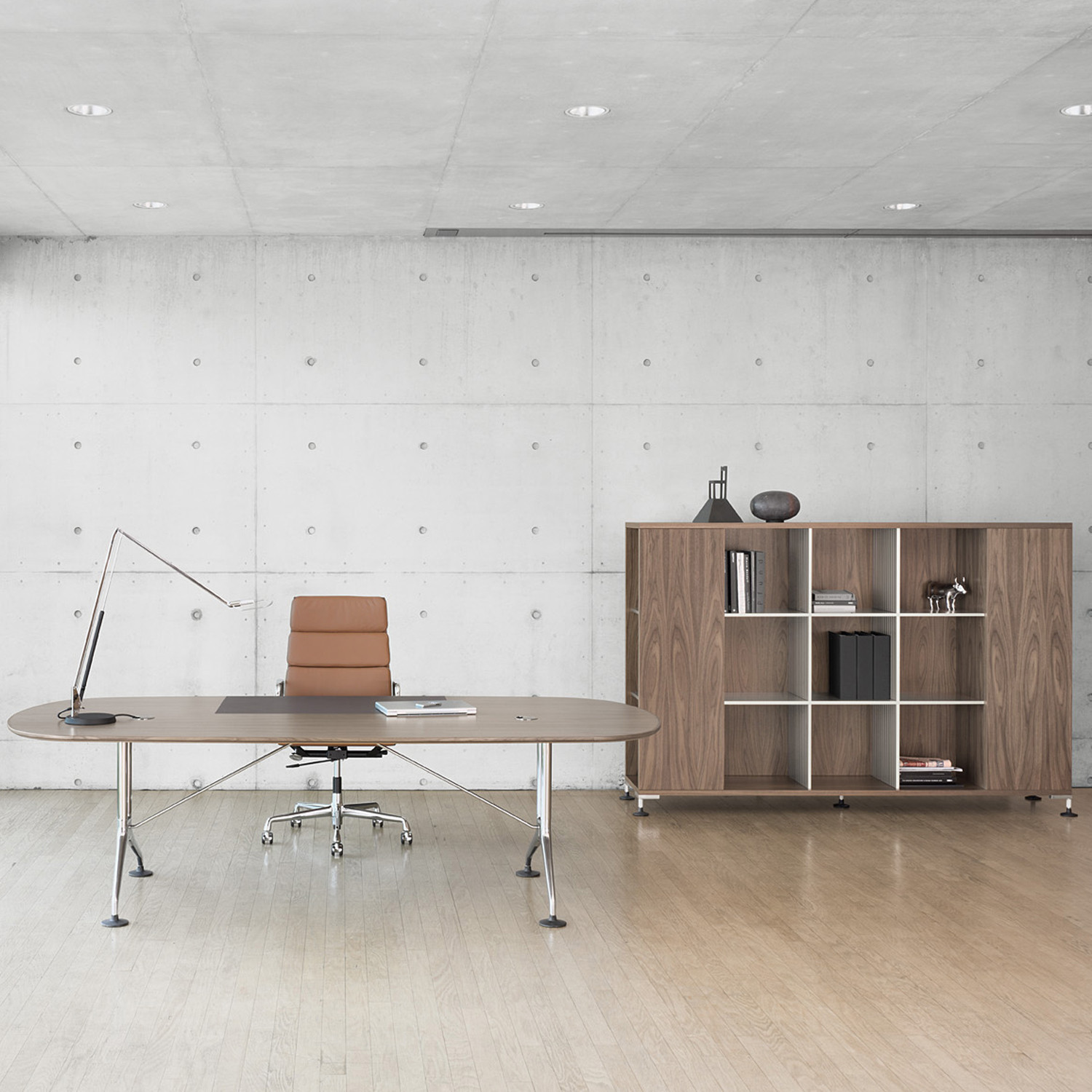 Vitra Spatio Executive Office Desk