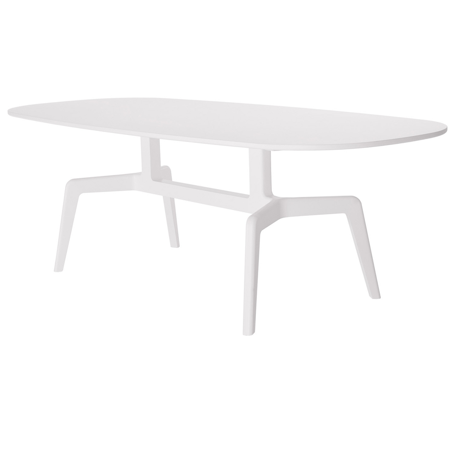 Stabiles Dining  Table in white