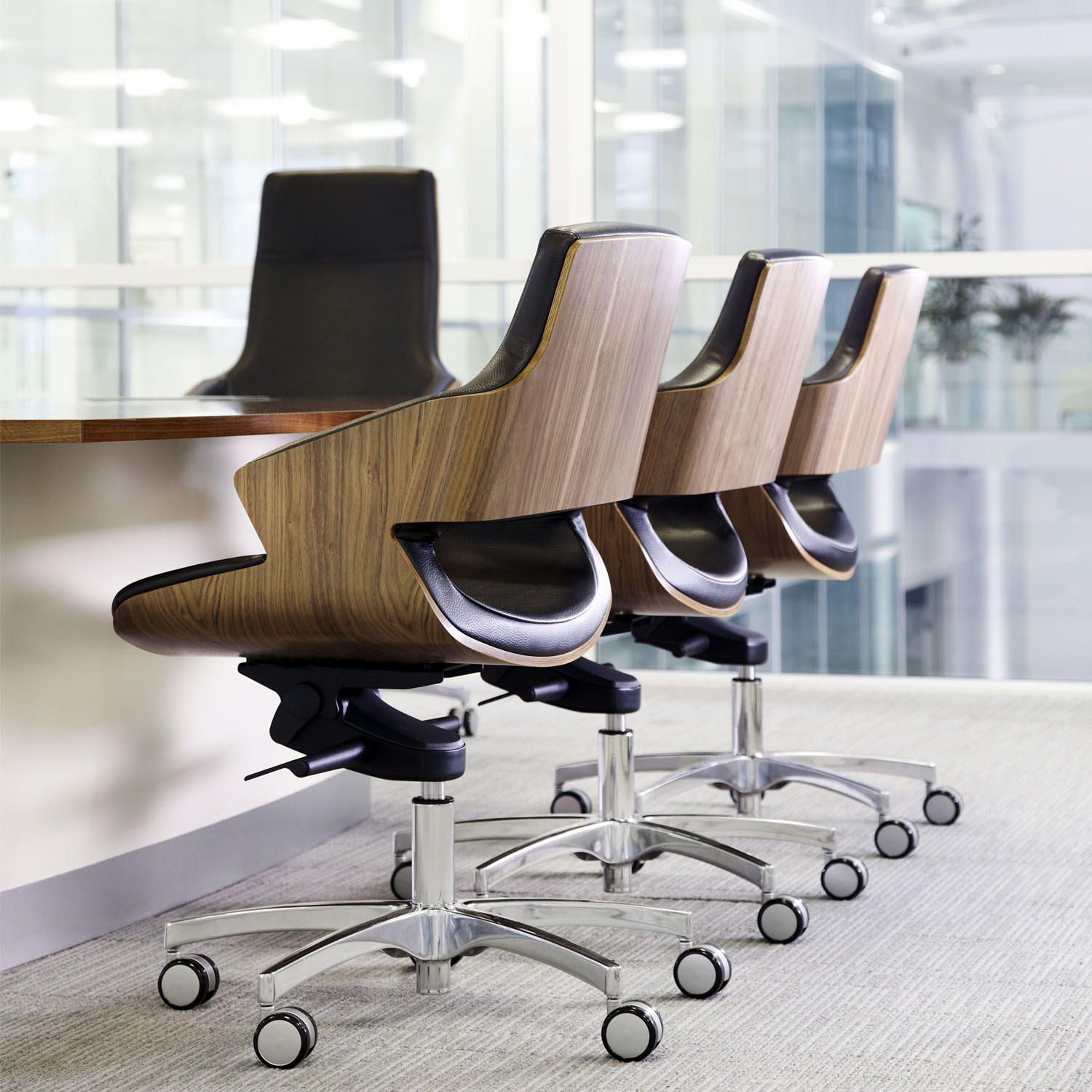 Stanley Boardroom Seating by Connection