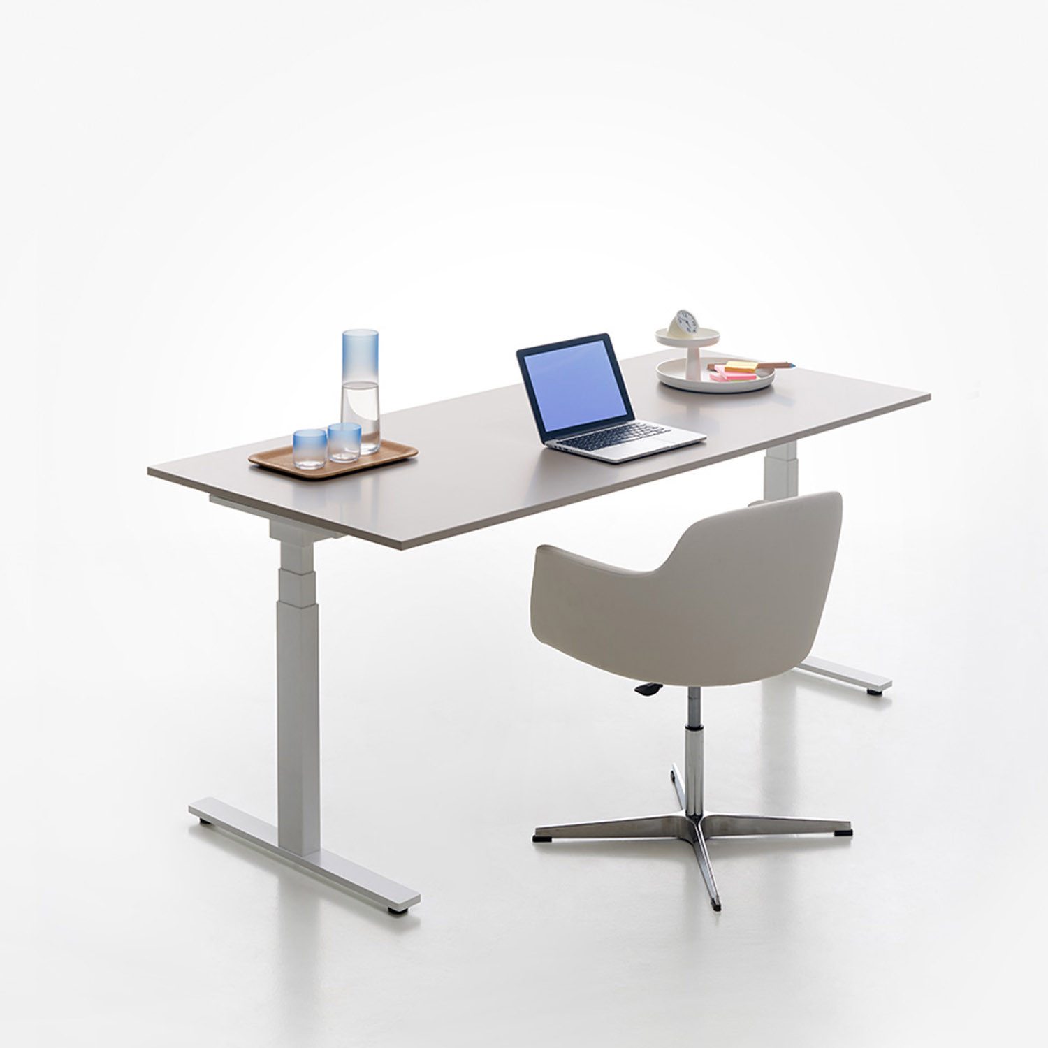 Manerba Stand Up T-Leg Adjustable Desks