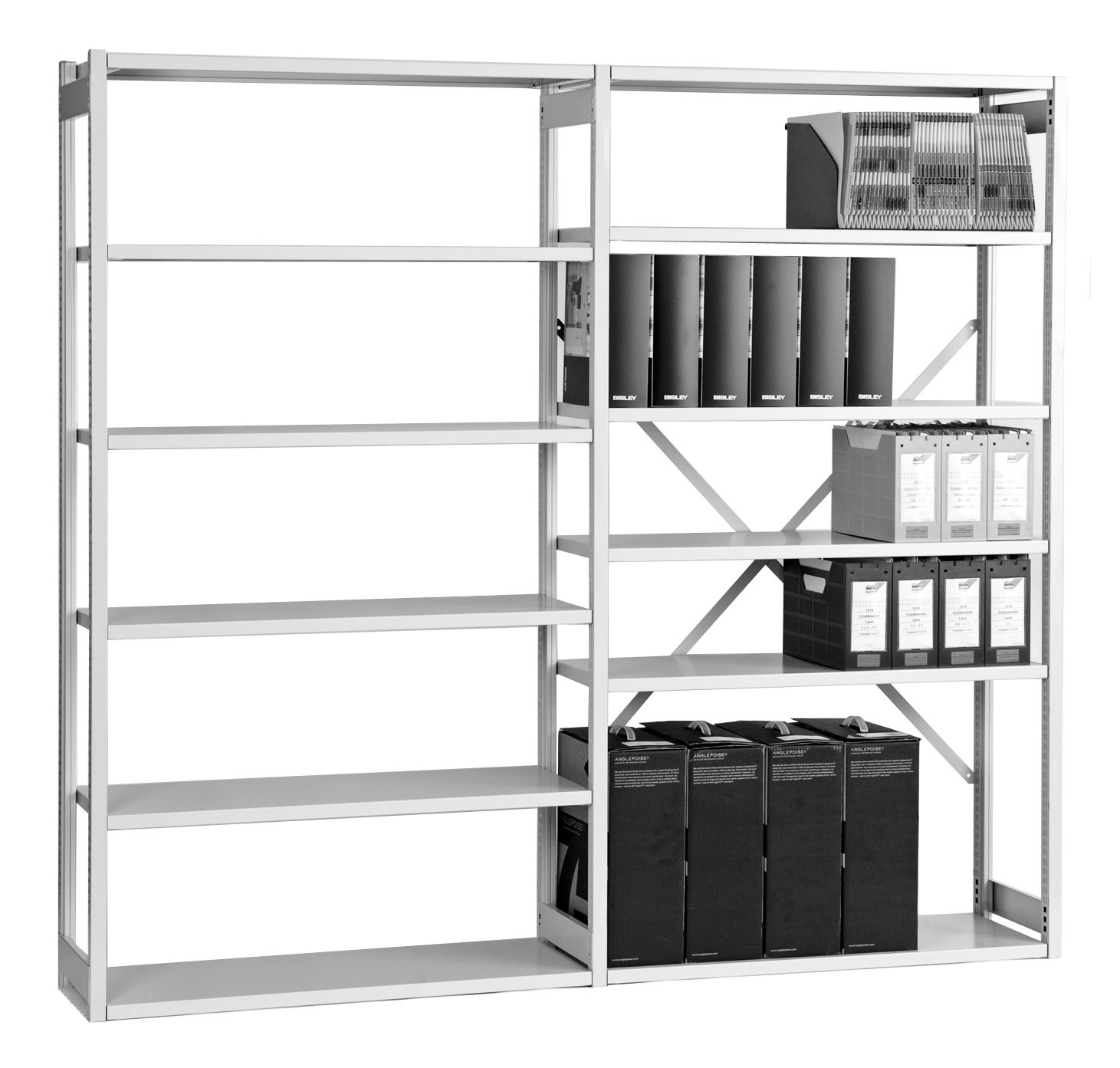 Bisley Steel Shelving Systems