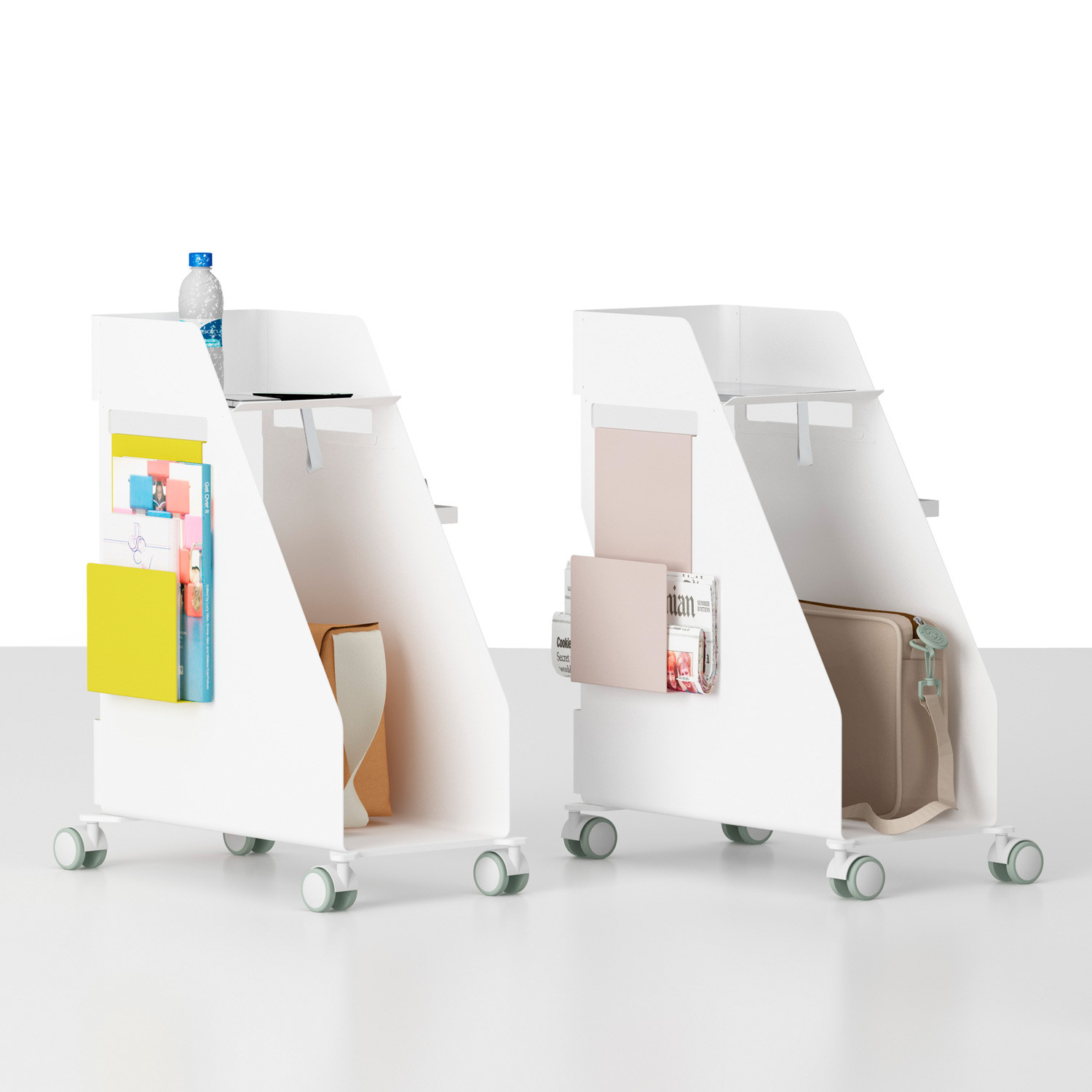 Store Mobile Personal Pedestals