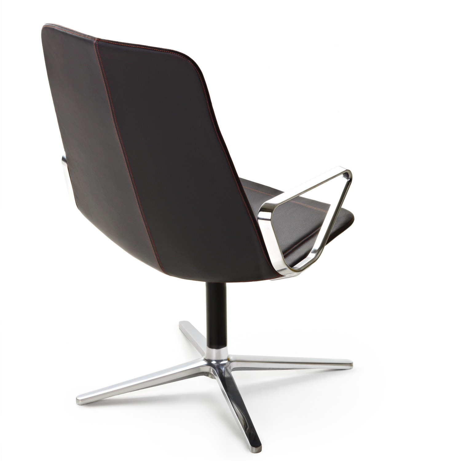 Stratos Lounge Armchair Back View