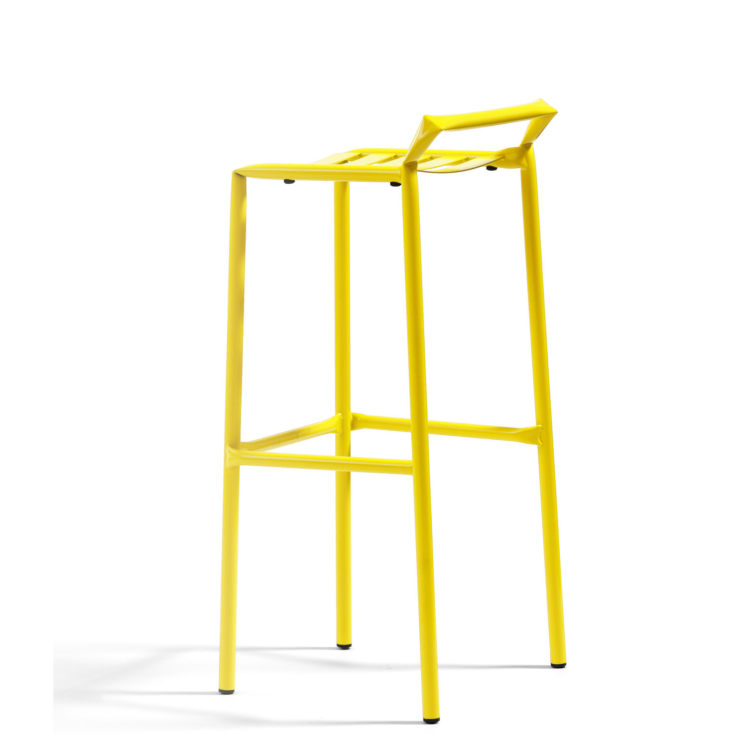 Straw Tubular Steel Stool O37