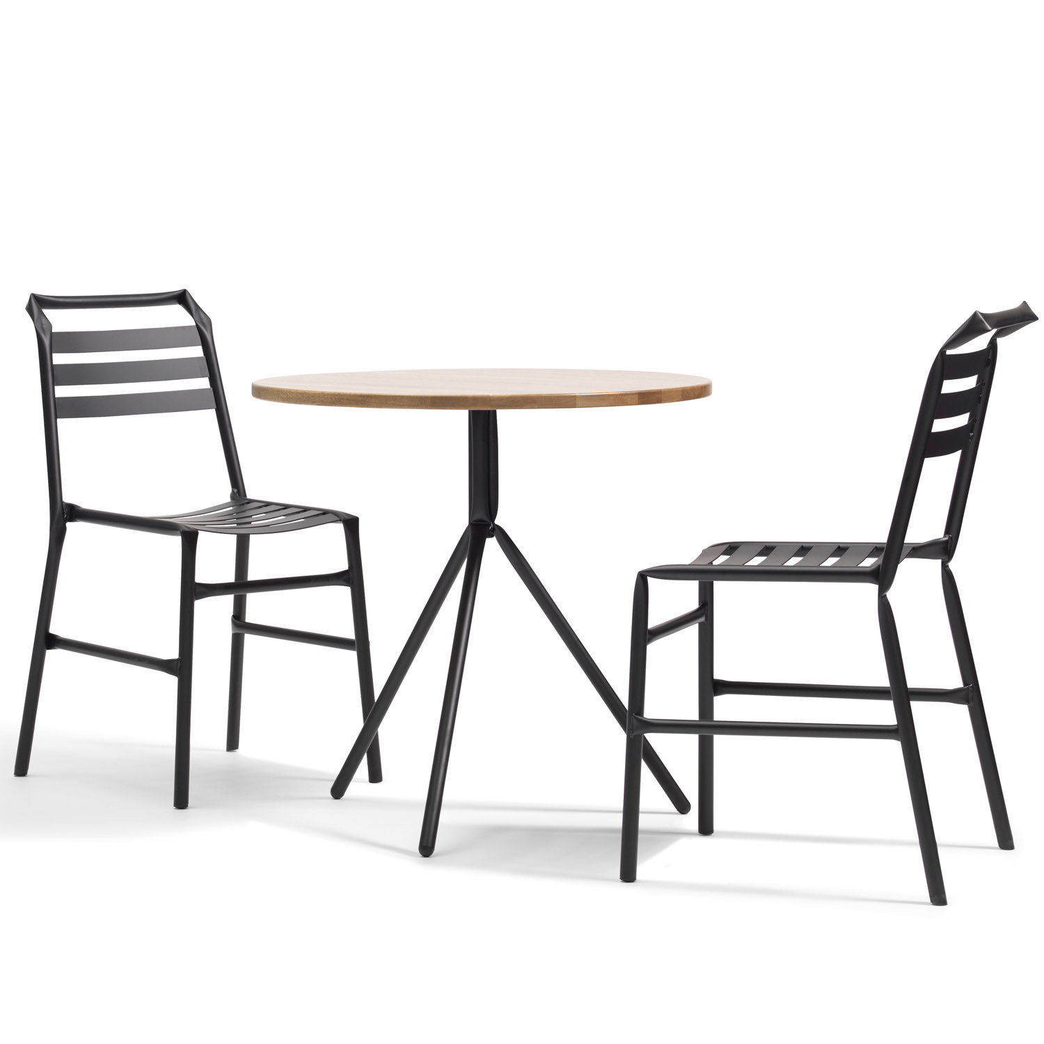 Straw Bistro Table L35 by Osko+Deichmann
