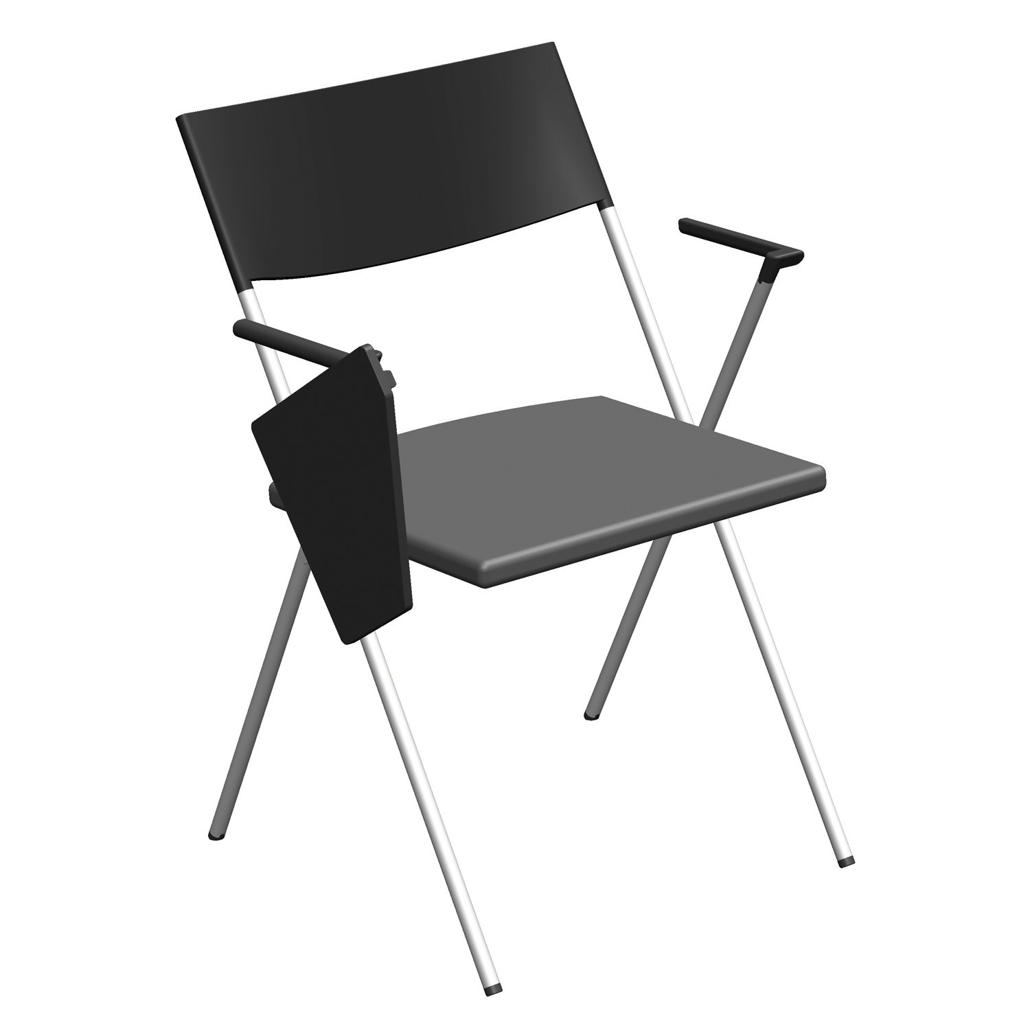 Strym Chair with writing tablet