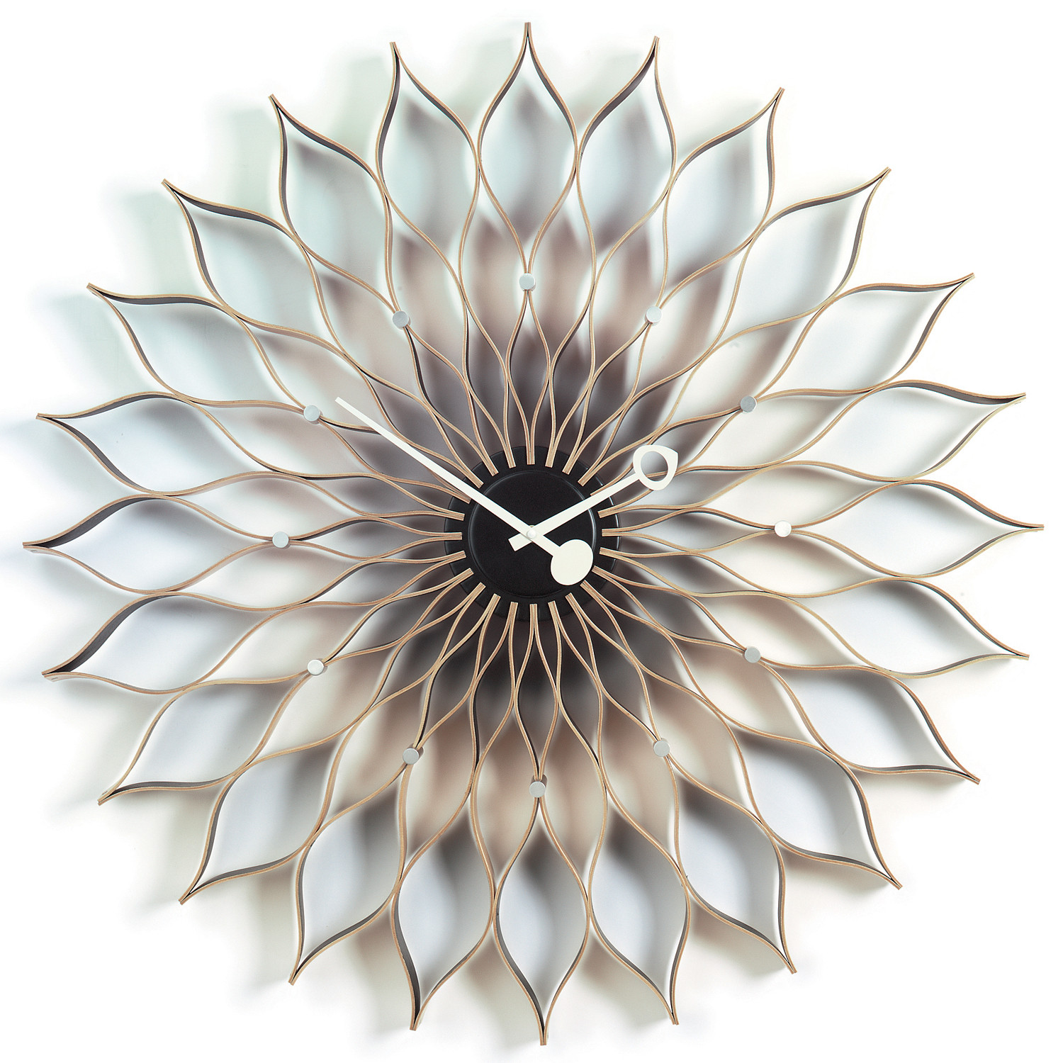 Sunflower Clock by George Nelson