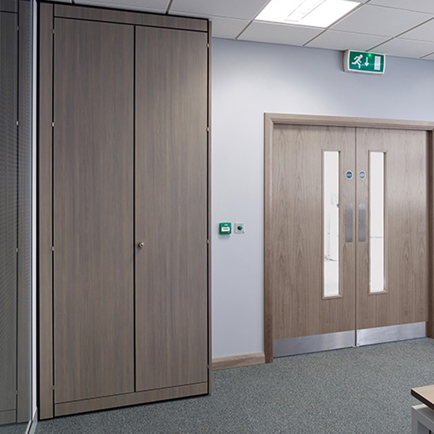 Custom Fitted Office Cupboards