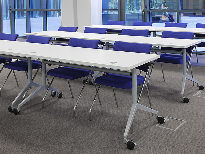 Swan Foldable Training Tables by Koleksiyon