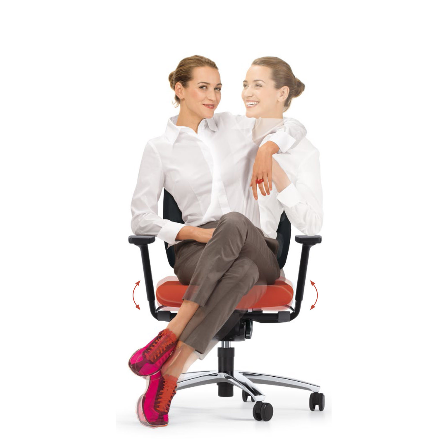 Swing Up Ergonomic Office Chair