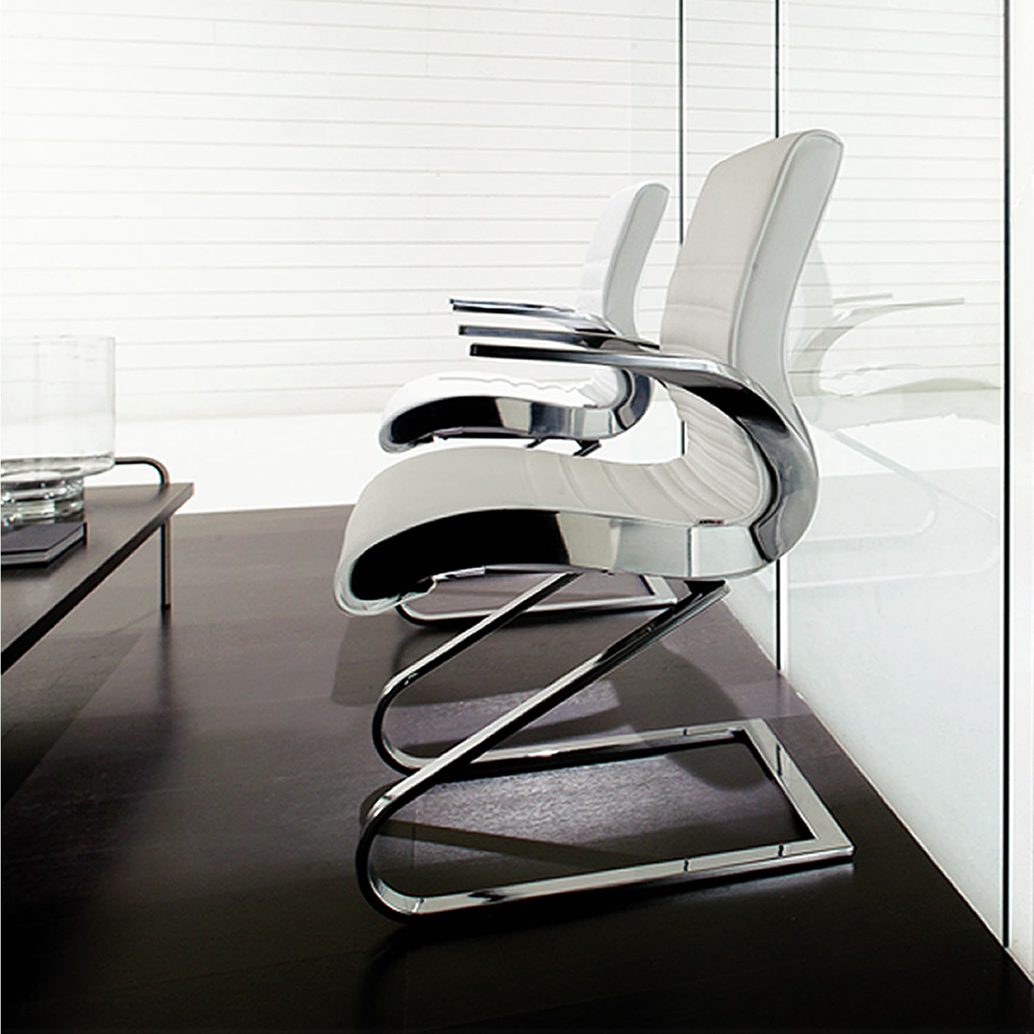 Synchrony Cantilever Meeting Chairs