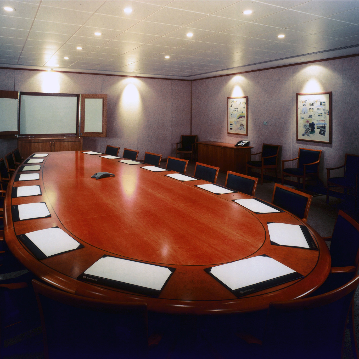Bespoke Conference Tables - Oval