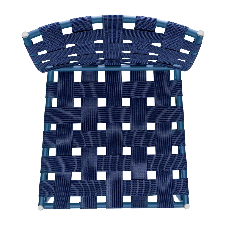 Tagliatelle Chair - blue elastic belts
