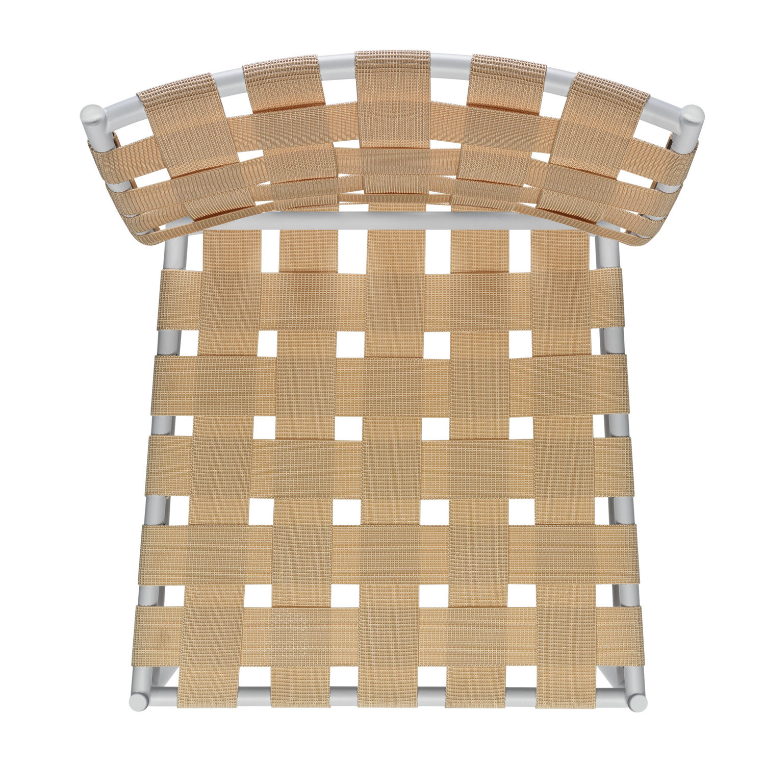 Tagliatelle Chair - beige elastic belts