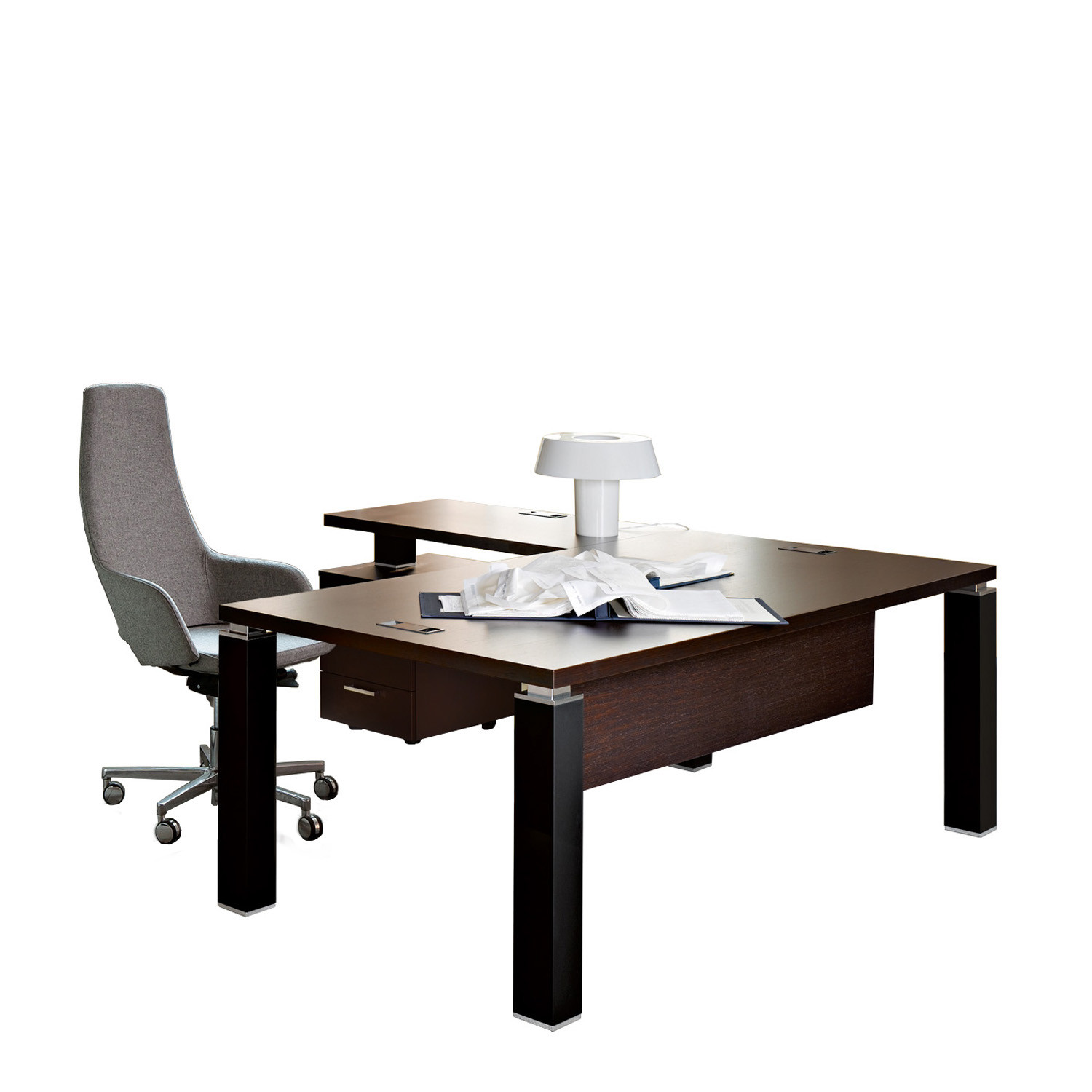 Tao Executive Desk with Return