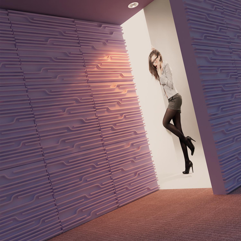 Technics Wall Panels by Soundtect