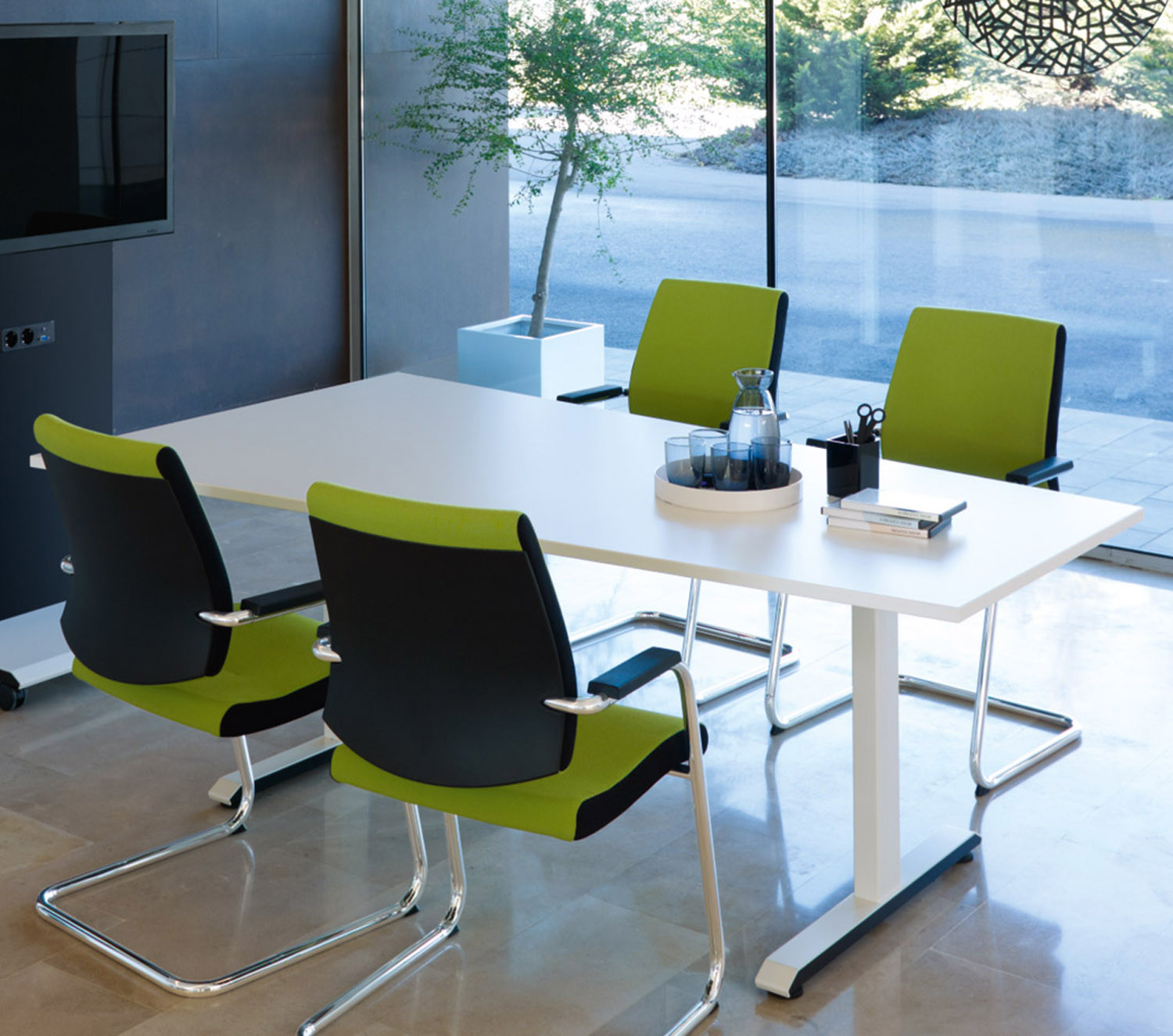 Temptation C Meeting Table by Sedus
