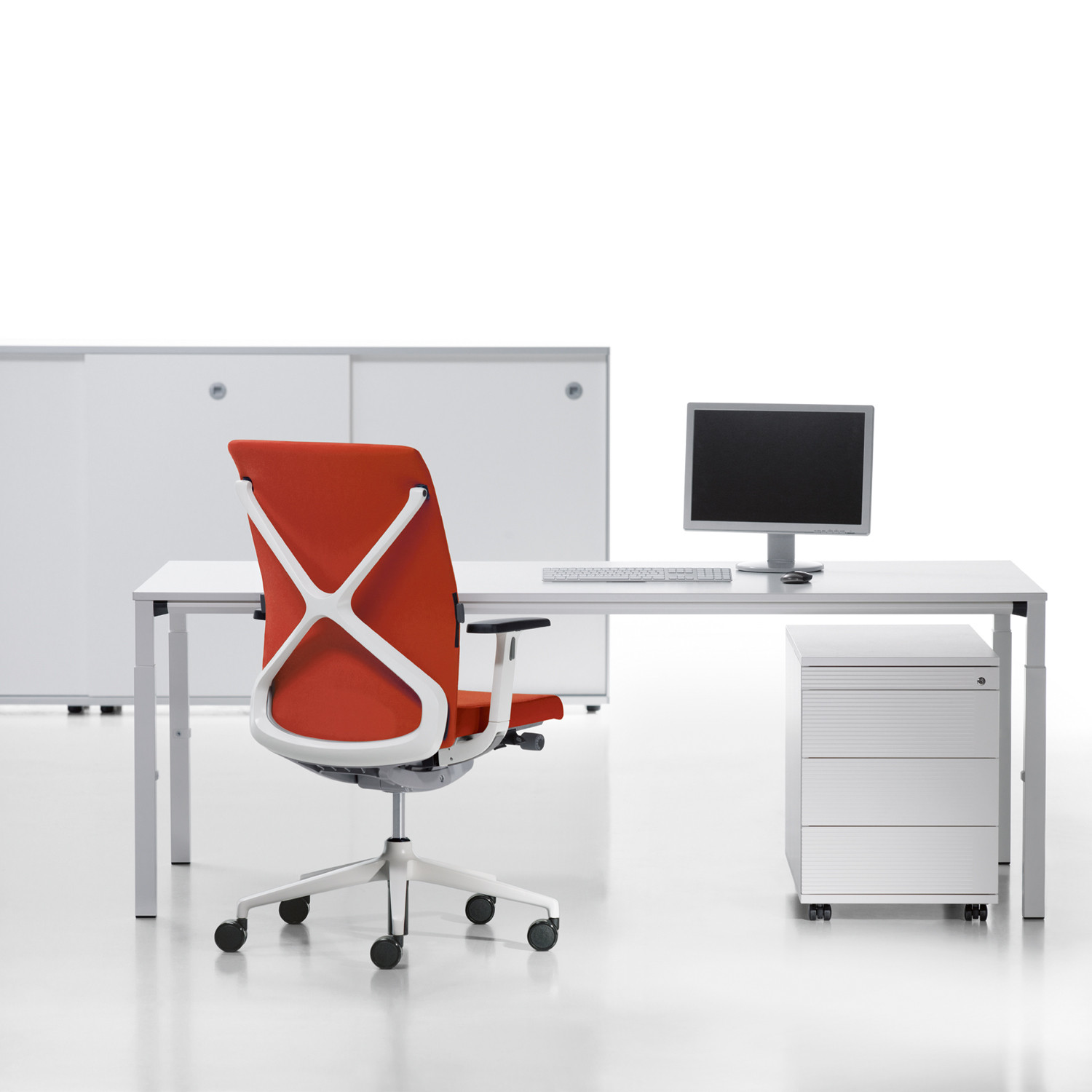 Temptation Four-Leg Single Desk