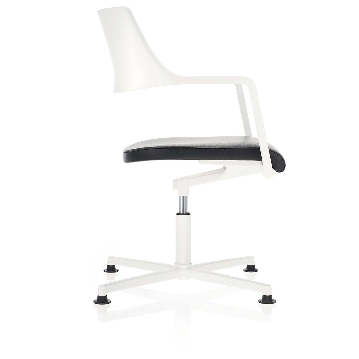 Tempuro Swivel Easy Chair with glides