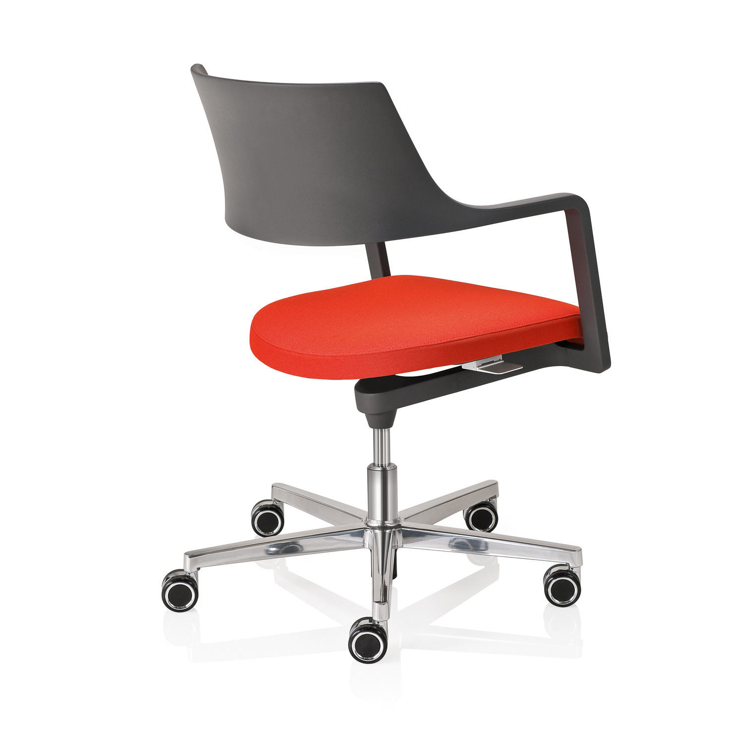 Tempuro Swivel Chair with castors