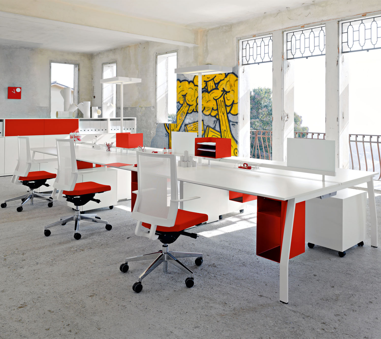 Ten Up Operative Office Bench Desks