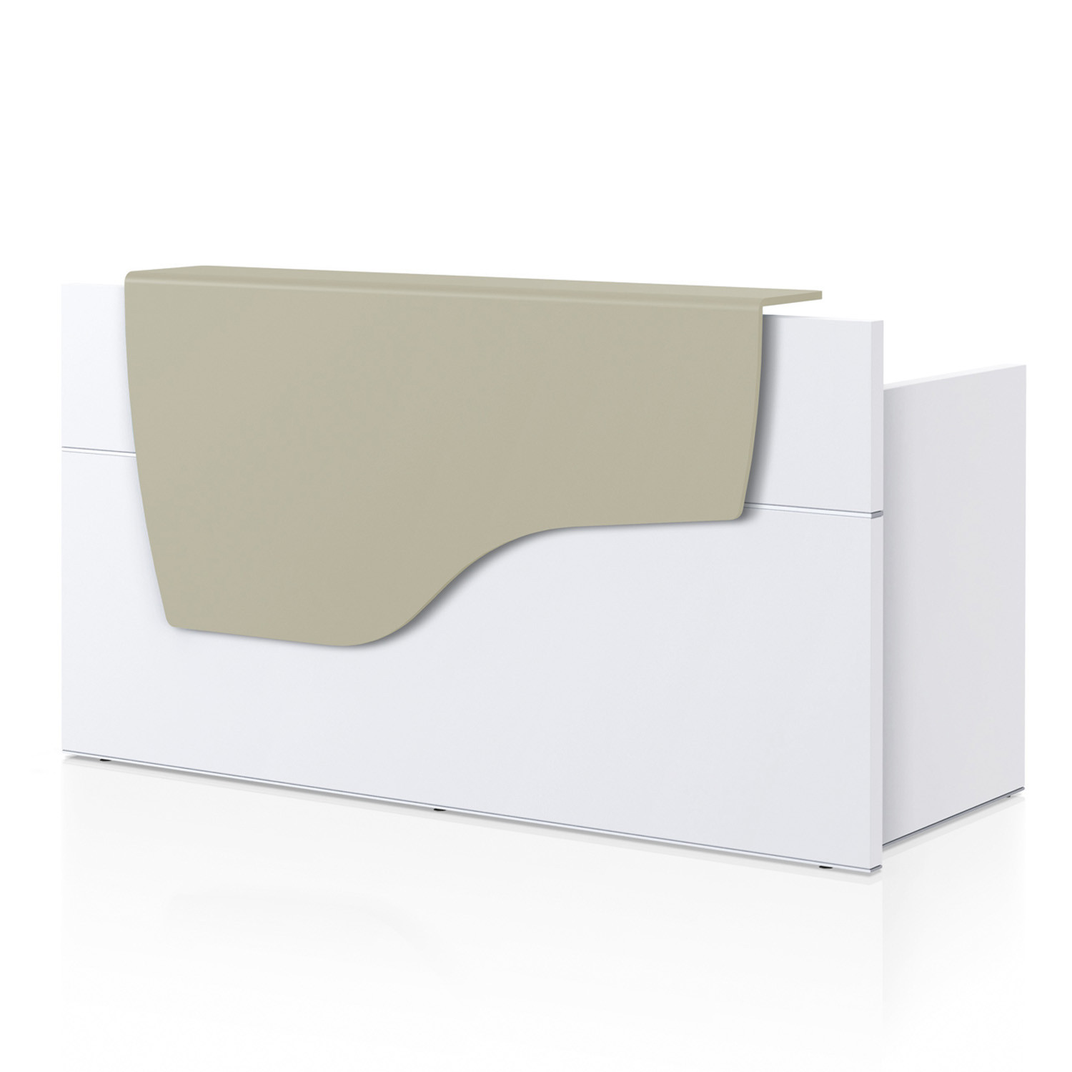 Sedus Reception Desk - Softtouch finish or leather effect are available upon request