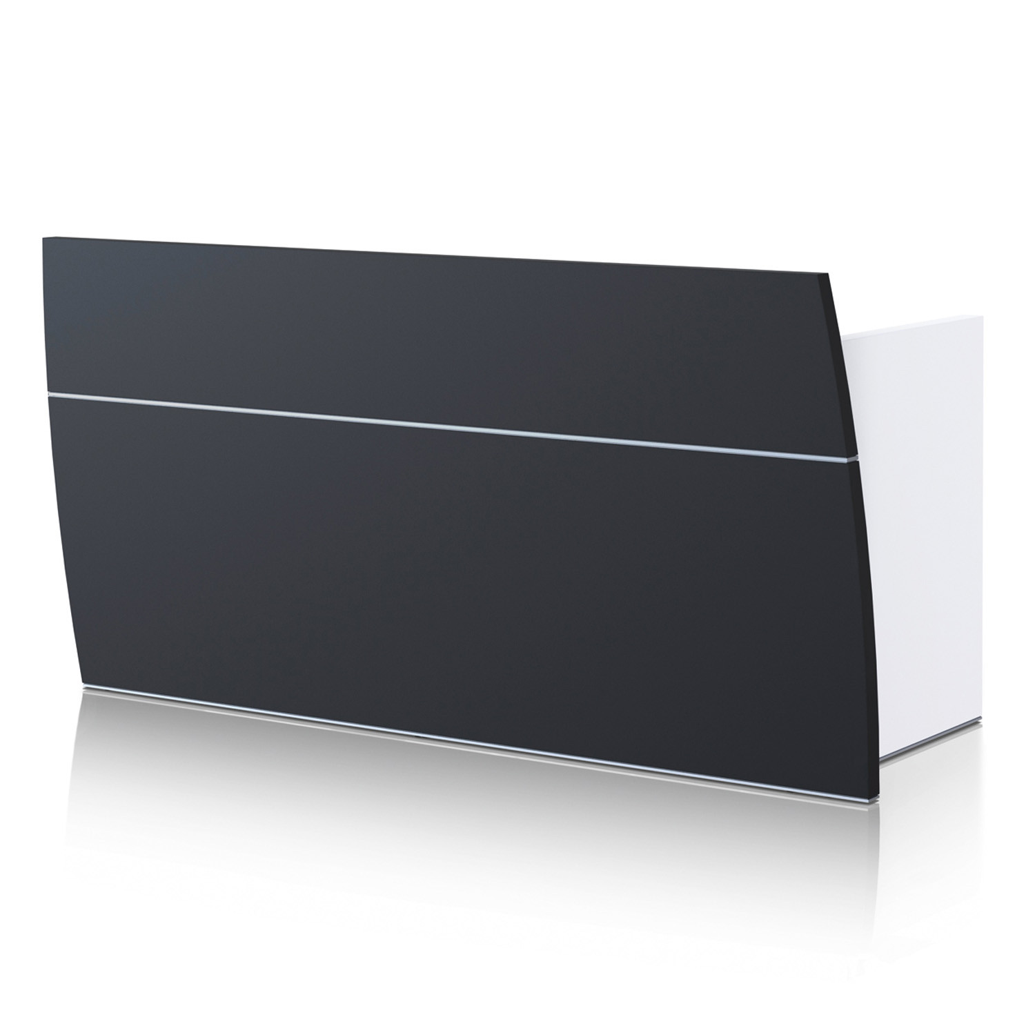 Sedus Aluminium Reception Desk