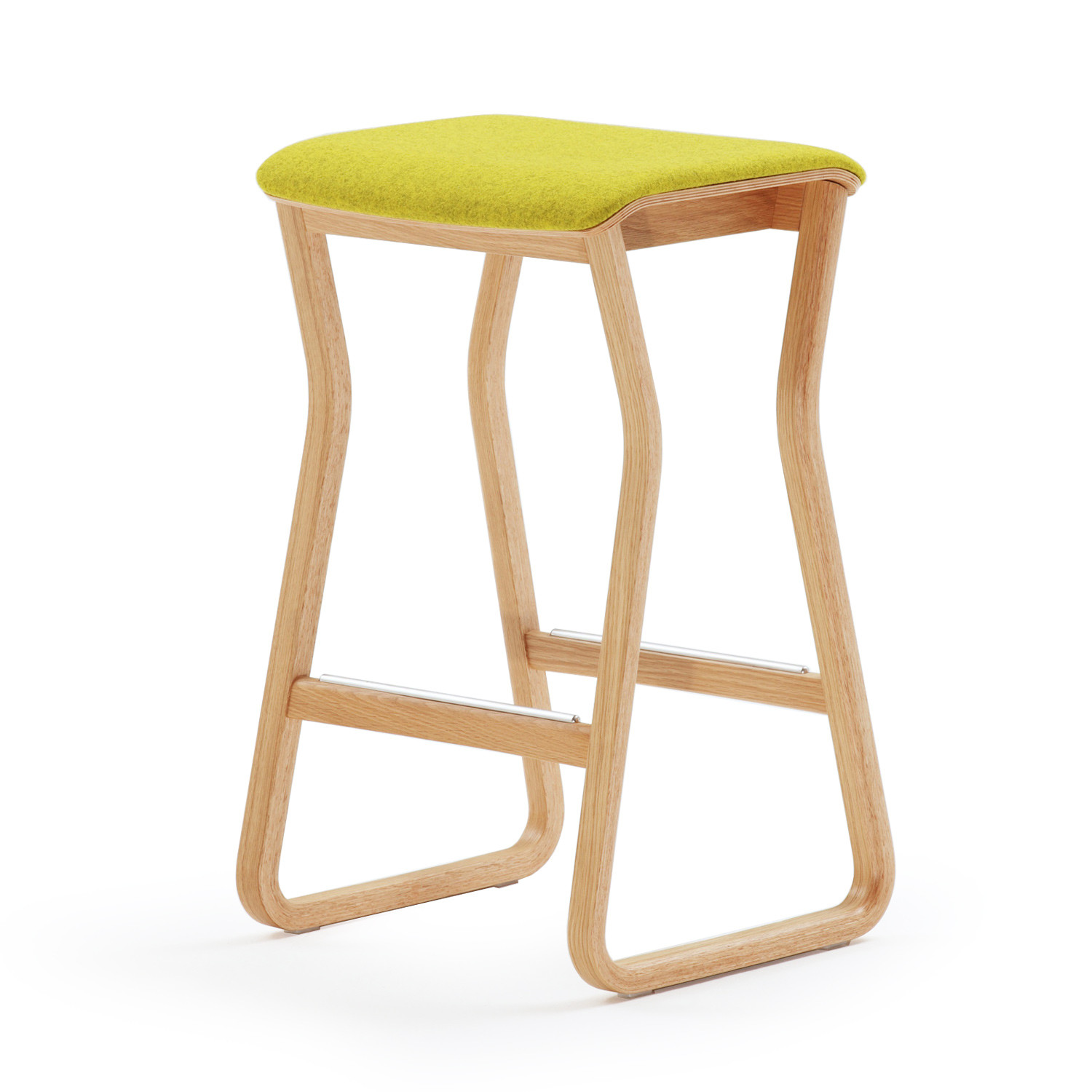 Theo Stool Upholstered