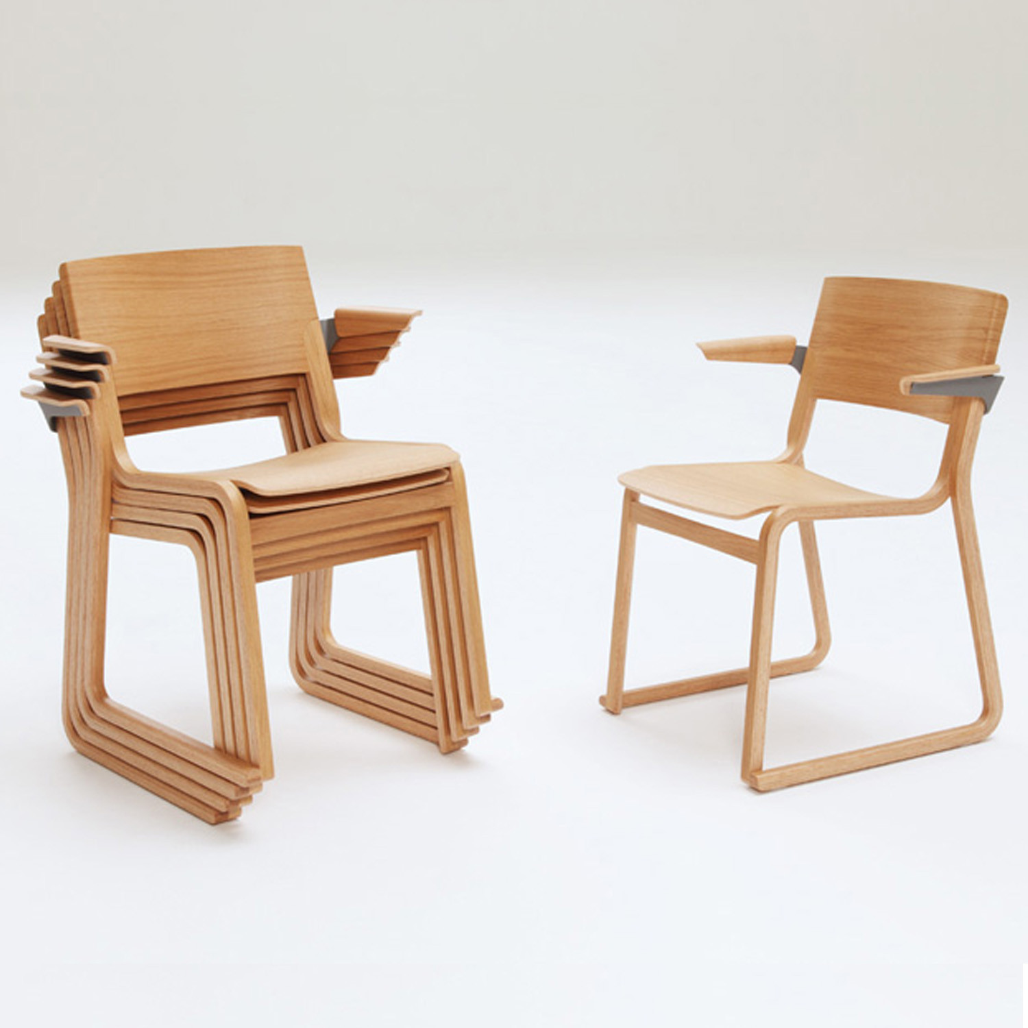 Theo High Density Stacking Armchairs