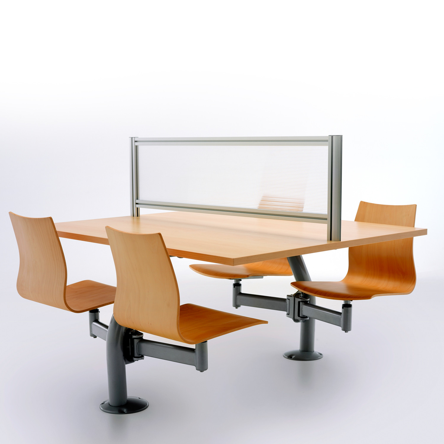 Thesi Lecture Seating System with Screen Divider