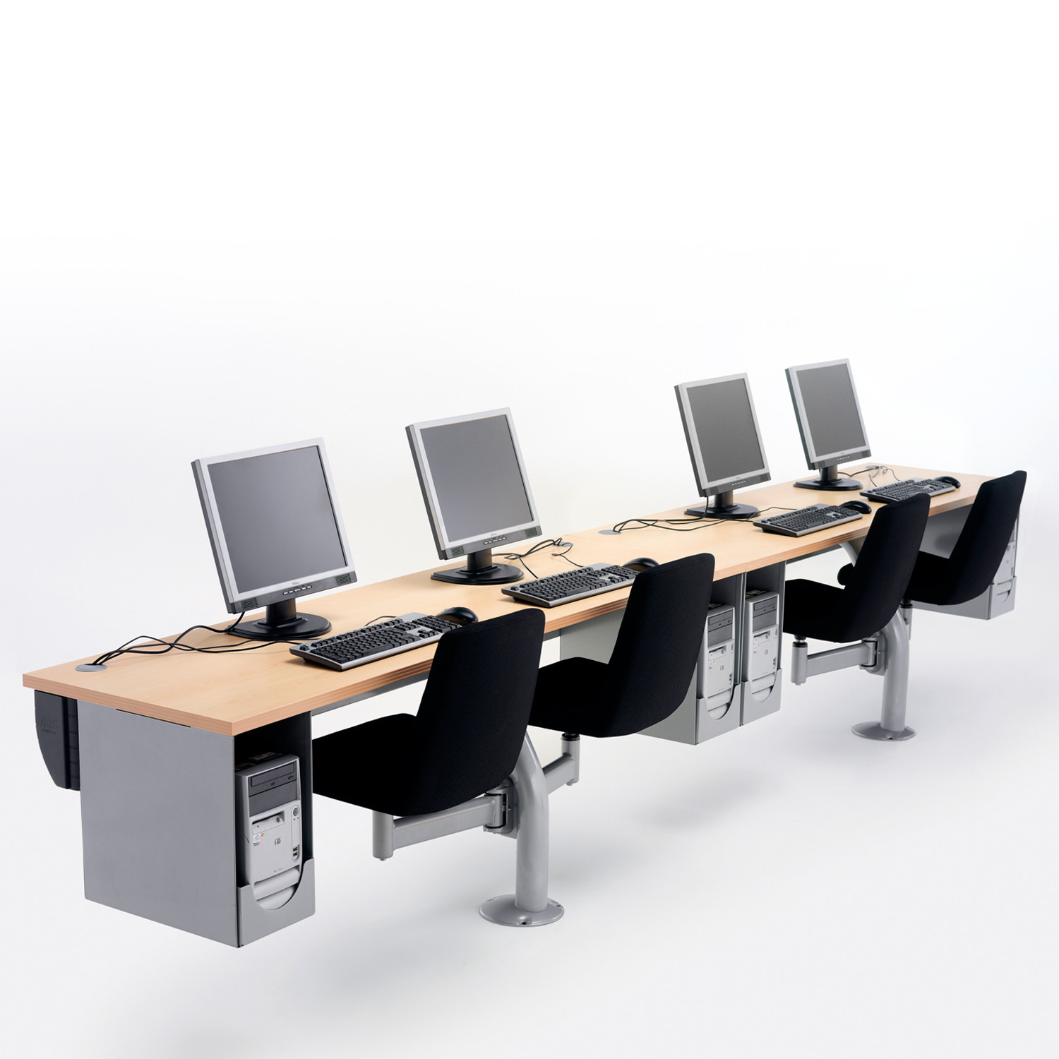 Thesi Training Seating System in row