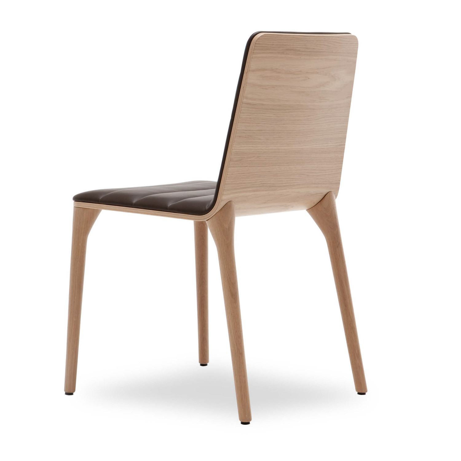 Tip Chair with Veneered Back