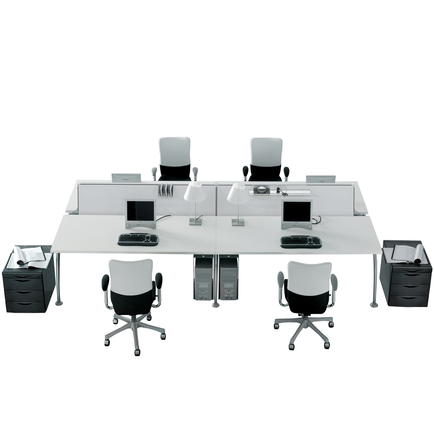 Tiper Desk Bench System by Frezza