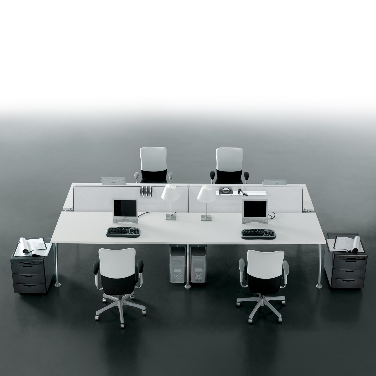 Tiper Modular Desk System is a great solution for open space offices