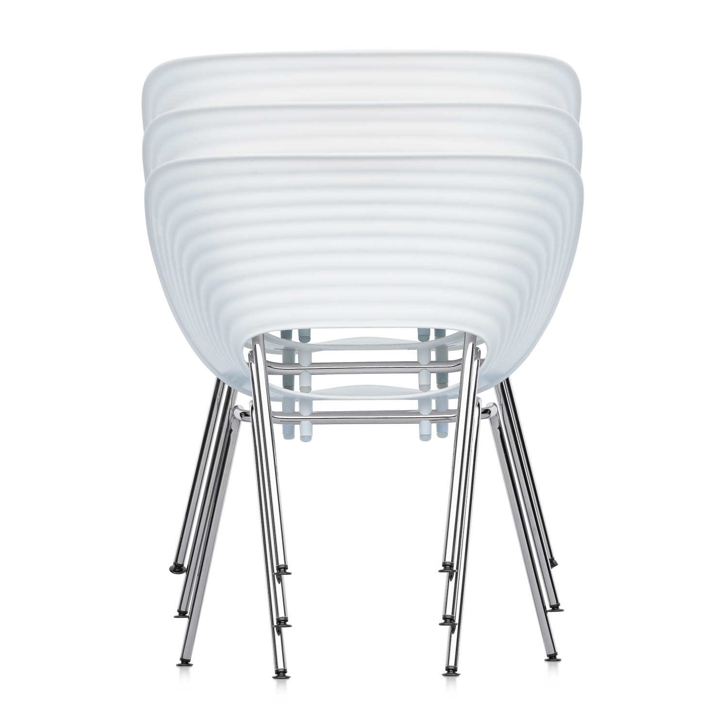 Tom Vac Chairs Stacked