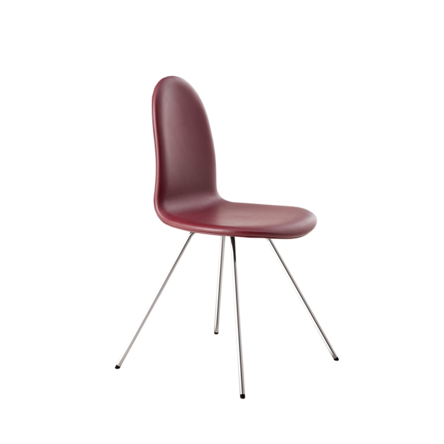 Tongue Chair Leather Upholstered
