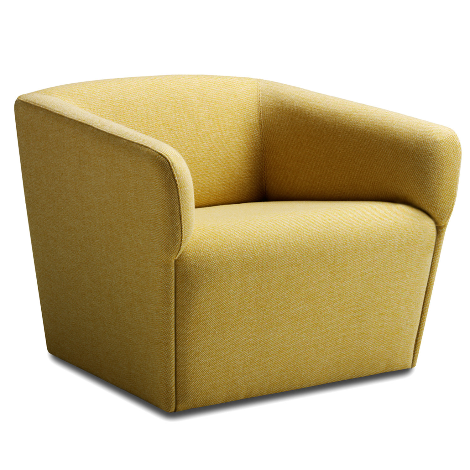 Tonic Lounge Easychair in Yellow